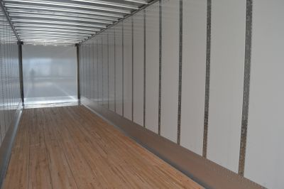 Interior of a 2019 Stoughton Z-Plate Dry Van Trailer