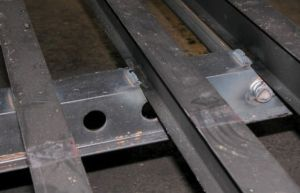 Photo of Wide Slide Rail on all Dry Van Trailers